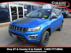 New 2019 Jeep Compass TRAILHAWK 4X4 Sport Utility 3C4NJDDB6KT600808 for sale near Chippewa Falls, WI