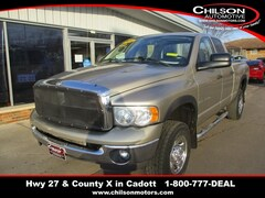 used Commercial 2004 Dodge Ram 2500 SLT Extended Cab 3D7KU28C34G190567 for sale in Cadott, WI