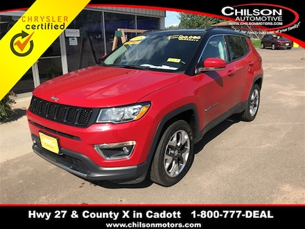 2018 Jeep Compass Limited SUV 3C4NJDCB9JT148921