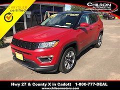 Certified 2018 Jeep Compass Limited SUV 3C4NJDCB9JT148921 for sale in Cadott, WI at Chilson's Corner Motors of Cadott