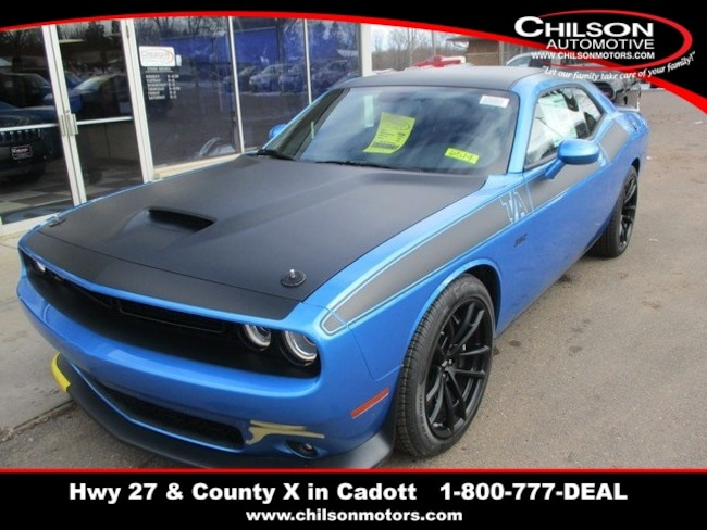 New 2019 Dodge Challenger R/T SCAT PACK Coupe near Chippewa Falls, WI