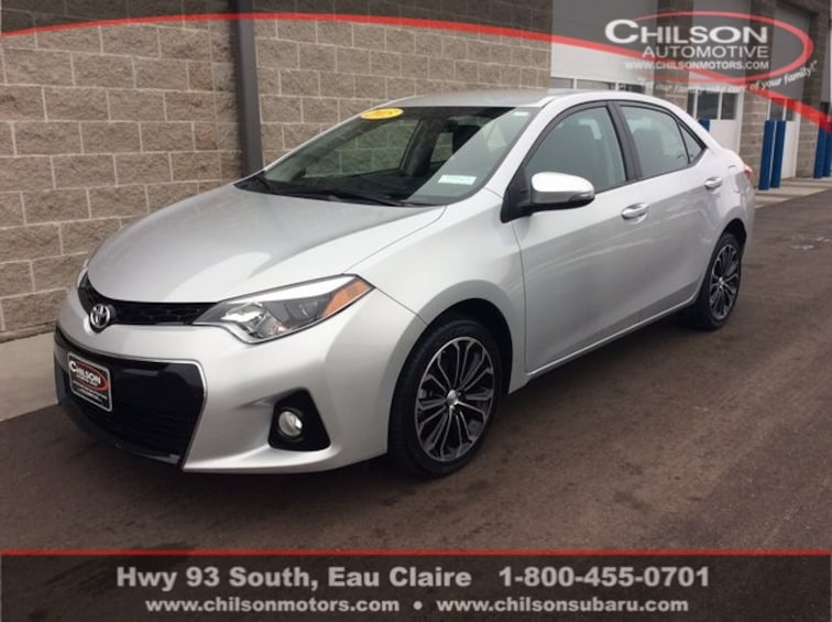 Used Toyota Corolla For Sale >> Used 2015 Toyota Corolla S For Sale In Eau Claire Wi Stock P7023
