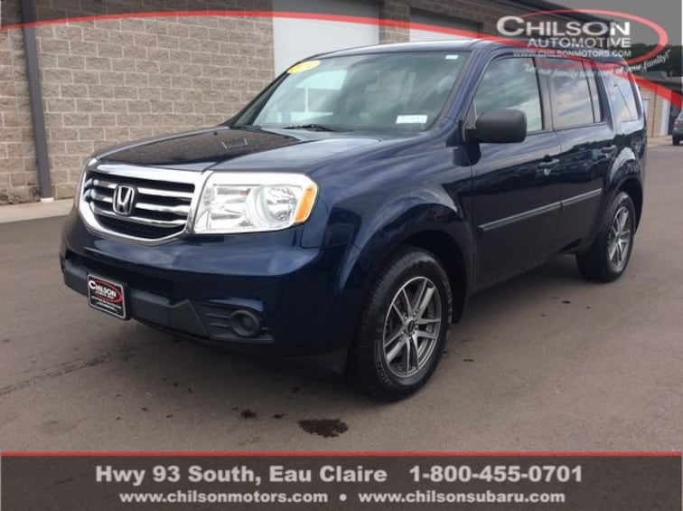 2014 Honda Pilot For Sale >> Used 2014 Honda Pilot Lx For Sale In Eau Claire Wi Stock P7262