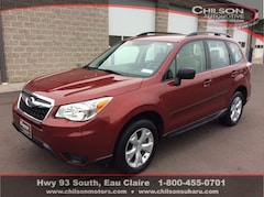 Certified Pre-Owned 2016 Subaru Forester 2.5i SUV JF2SJABC3GH497531 for Sale in Eau Claire WI