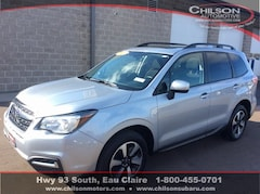 Certified Pre-Owned 2017 Subaru Forester 2.5i Premium SUV JF2SJAECXHH530117 for Sale in Eau Claire WI