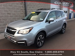 Certified Pre-Owned 2018 Subaru Forester 2.5i Premium SUV JF2SJAGC5JH556756 for Sale in Eau Claire WI