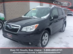 Certified Pre-Owned 2016 Subaru Forester 2.5i Limited SUV JF2SJAKC3GH509189 for Sale in Eau Claire WI
