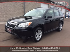 Certified Pre-Owned 2016 Subaru Forester 2.5i SUV JF2SJABC3GH533234 for Sale in Eau Claire WI