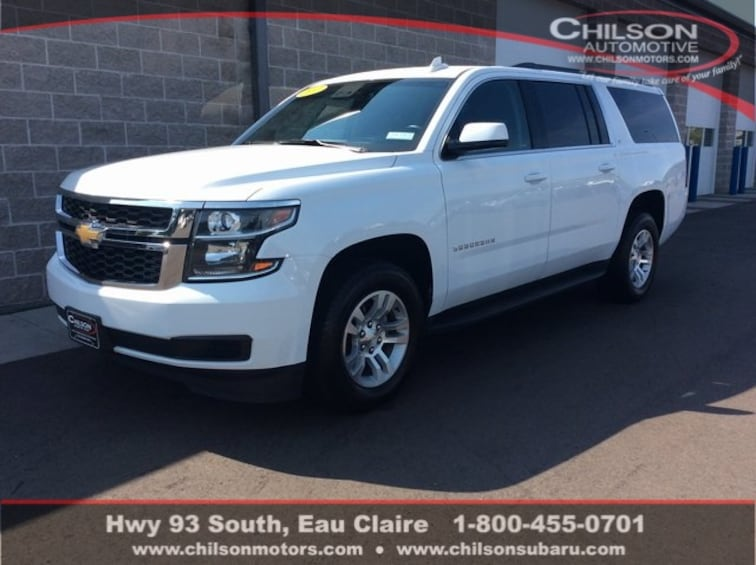 used 2017 chevrolet suburban lt for sale in eau claire, wi - stock