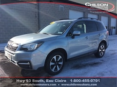 Certified Pre-Owned 2017 Subaru Forester 2.5i Limited SUV JF2SJARC4HH454730 for Sale in Eau Claire WI