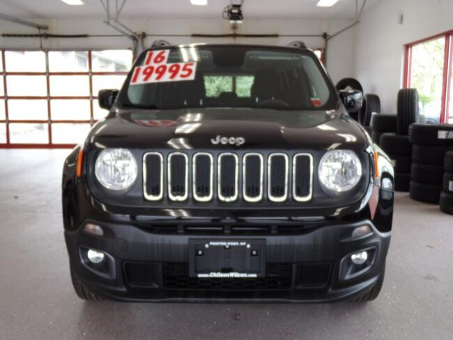 Certified Pre-owned 2016 Jeep Renegade Latitude 4x4 SUV for sale in Painted Post, NY