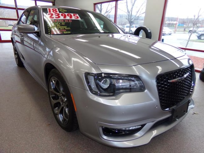 Certified Pre-owned 2018 Chrysler 300 S Sedan for sale in Painted Post, NY