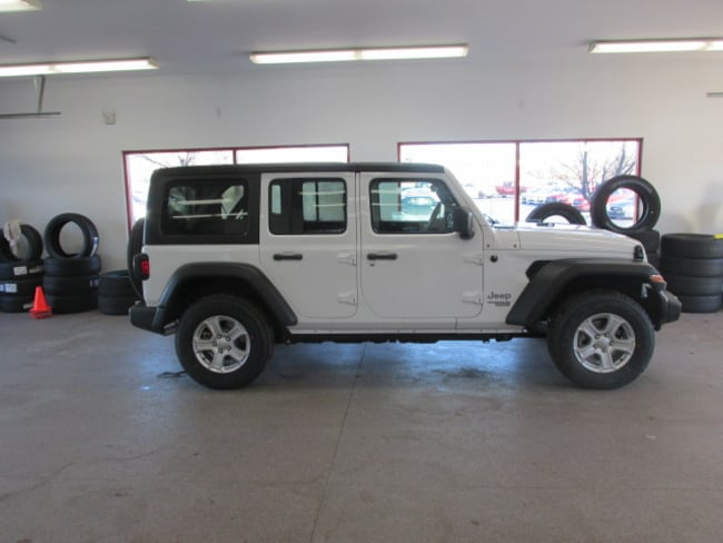 New 2019 Jeep Wrangler UNLIMITED SPORT S 4X4 Sport Utility for sale /lease in Painted Post, NY