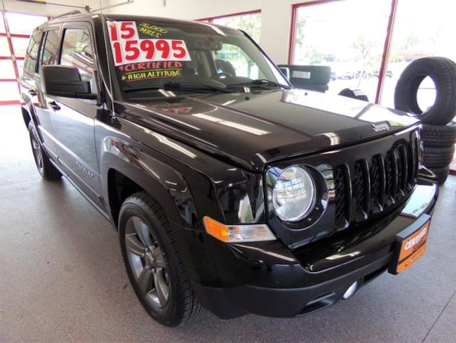 Certified Pre-owned 2015 Jeep Patriot Latitude SUV for sale in Painted Post, NY