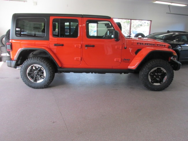 New 2018 Jeep Wrangler UNLIMITED RUBICON 4X4 Sport Utility for sale /lease in Painted Post, NY