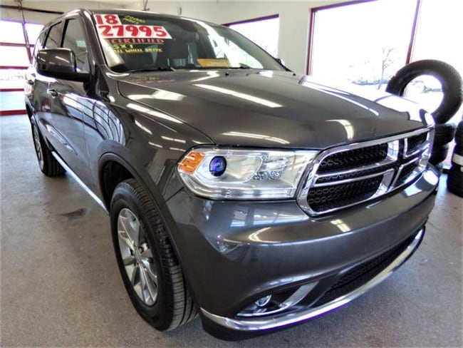 Certified Pre-owned 2018 Dodge Durango SXT SUV for sale in Painted Post, NY