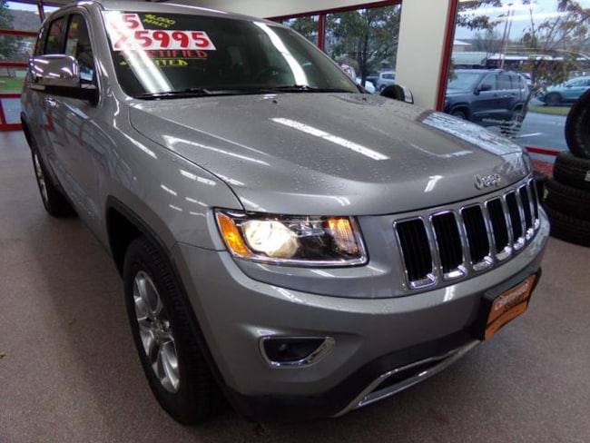 Certified Pre-owned 2015 Jeep Grand Cherokee Limited 4x4 SUV for sale in Painted Post, NY