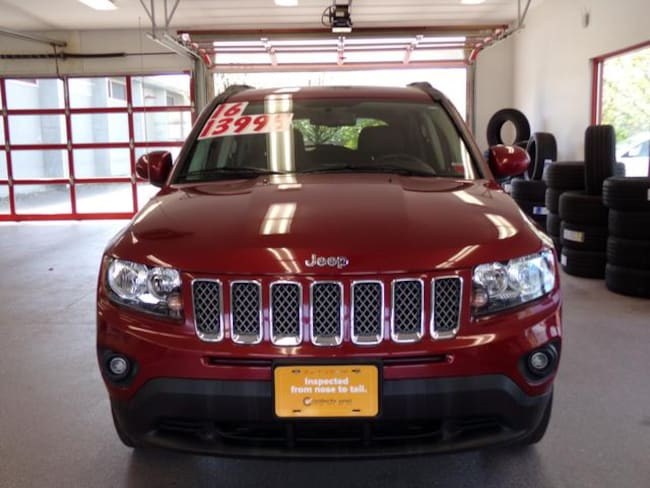 Certified Pre-owned 2016 Jeep Compass Latitude 4x4 SUV for sale in Painted Post, NY