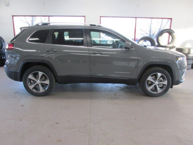 New 2019 Jeep Cherokee LIMITED 4X4 Sport Utility for sale /lease in Painted Post, NY