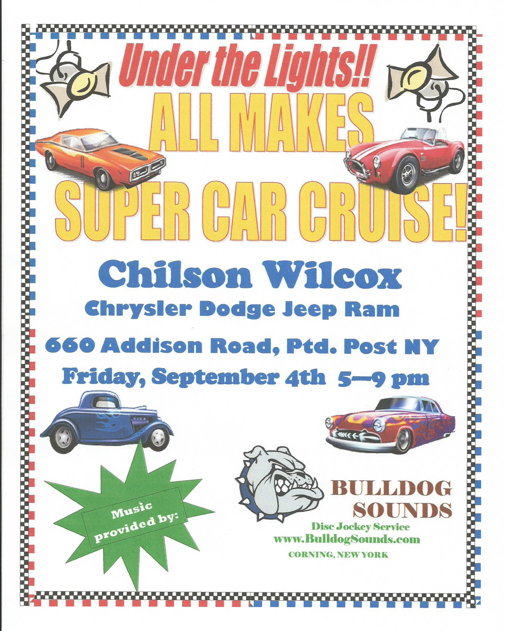ChilsonWilcox New Chrysler Dodge Jeep Ram Dealership In - Chilson wilcox car show