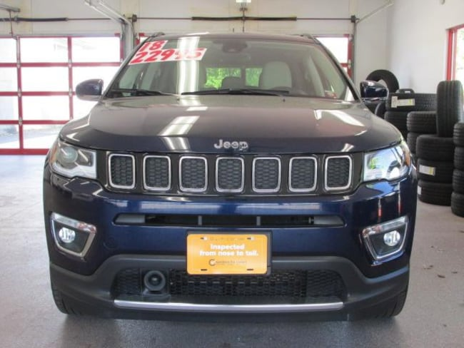 Certified Pre-owned 2018 Jeep Compass Limited 4x4 SUV for sale in Painted Post, NY