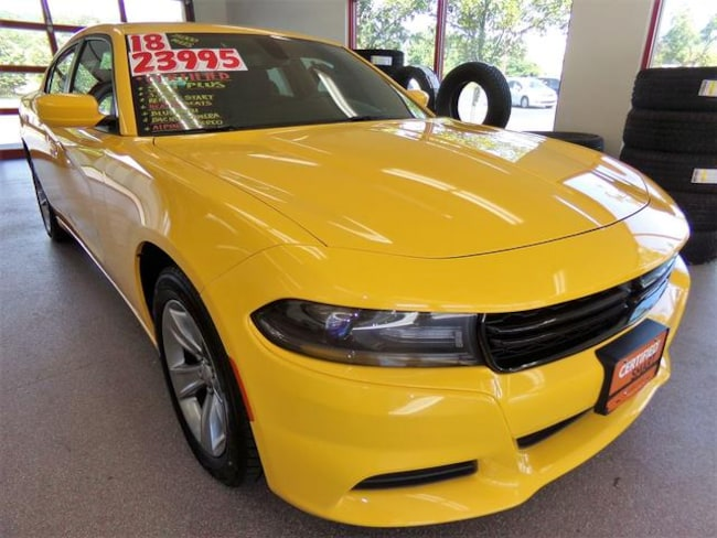Certified Pre-owned 2018 Dodge Charger SXT Plus Sedan for sale in Painted Post, NY
