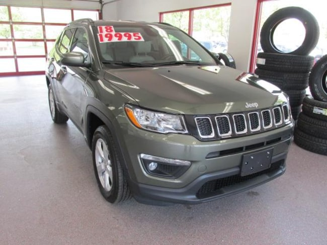 Certified Pre-owned 2018 Jeep Compass Latitude 4x4 SUV for sale in Painted Post, NY