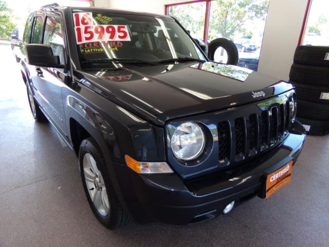 Certified Pre-owned 2016 Jeep Patriot Latitude SUV for sale in Painted Post, NY