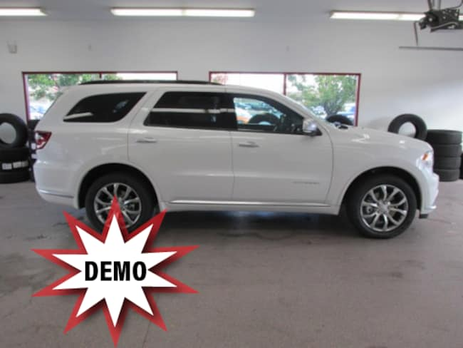 New 2018 Dodge Durango CITADEL ANODIZED PLATINUM AWD Sport Utility for sale /lease in Painted Post, NY