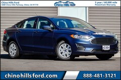 New 2019 Ford Fusion S Sedan 3FA6P0G77KR176058 for sale in Chino, CA