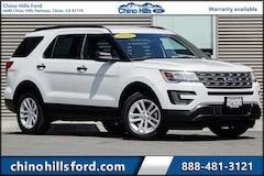 Certified Pre-Owned 2016 Ford Explorer Base SUV 1FM5K7B85GGC87408 for sale in Chino, CA