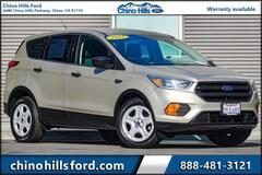 Pre-Owned 2017 Ford Escape S SUV 1FMCU0F76HUC67276 for sale in Chino, CA