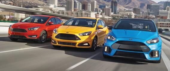 Ford Focus Rs Vs St >> 2018 Ford Focus S Vs Se Vs Sel Vs Titanium Vs St Vs Rs