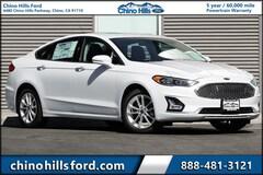 New 2019 Ford Fusion Energi Titanium Sedan 3FA6P0SU8KR176101 for sale in Chino, CA