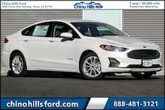 New 2019 Ford Fusion Hybrid SE Sedan 3FA6P0LU2KR176089 for sale in Chino, CA