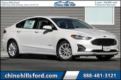 New 2019 Ford Fusion Hybrid SE Sedan 3FA6P0LU5KR176085 for sale in Chino, CA