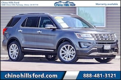 Pre-Owned 2017 Ford Explorer Limited SUV 1FM5K7FHXHGC55310 for sale in Chino, CA