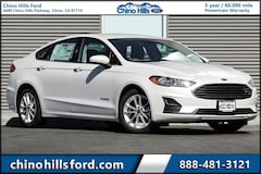 New 2019 Ford Fusion Hybrid SE Sedan 3FA6P0LU0KR176088 for sale in Chino, CA