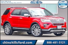 Certified Pre-Owned 2018 Ford Explorer Platinum SUV 1FM5K8HT5JGA80803 for sale in Chino, CA