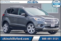 Certified Pre-Owned 2017 Ford Escape Titanium SUV 1FMCU0J98HUE16490 for sale in Chino, CA