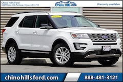 Pre-Owned 2017 Ford Explorer XLT SUV 1FM5K7D8XHGC80405 for sale in Chino, CA