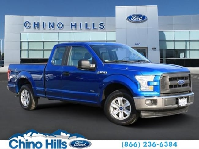 Pre-Owned 2017 Ford F-150 Truck SuperCab Styleside for sale in Chino, CA
