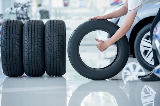 Used Car Tire Service Department