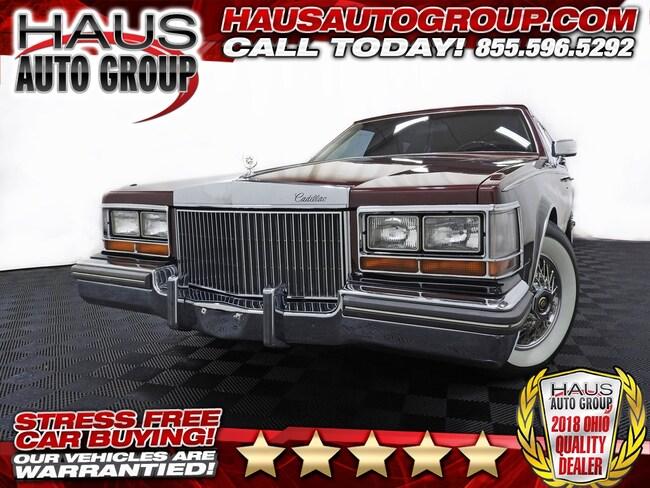1981 Cadillac Seville Base Sedan