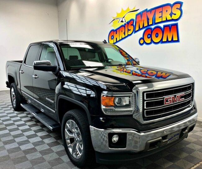 2014 GMC Sierra 1500 SLT Crew Cab Value Package Truck Crew Cab