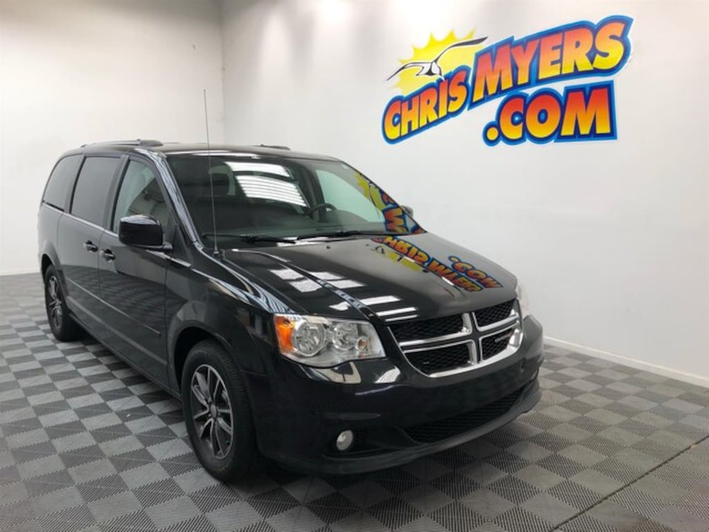Used 2017 Dodge Grand Caravan For Sale at Chris Myers Chrysler Jeep