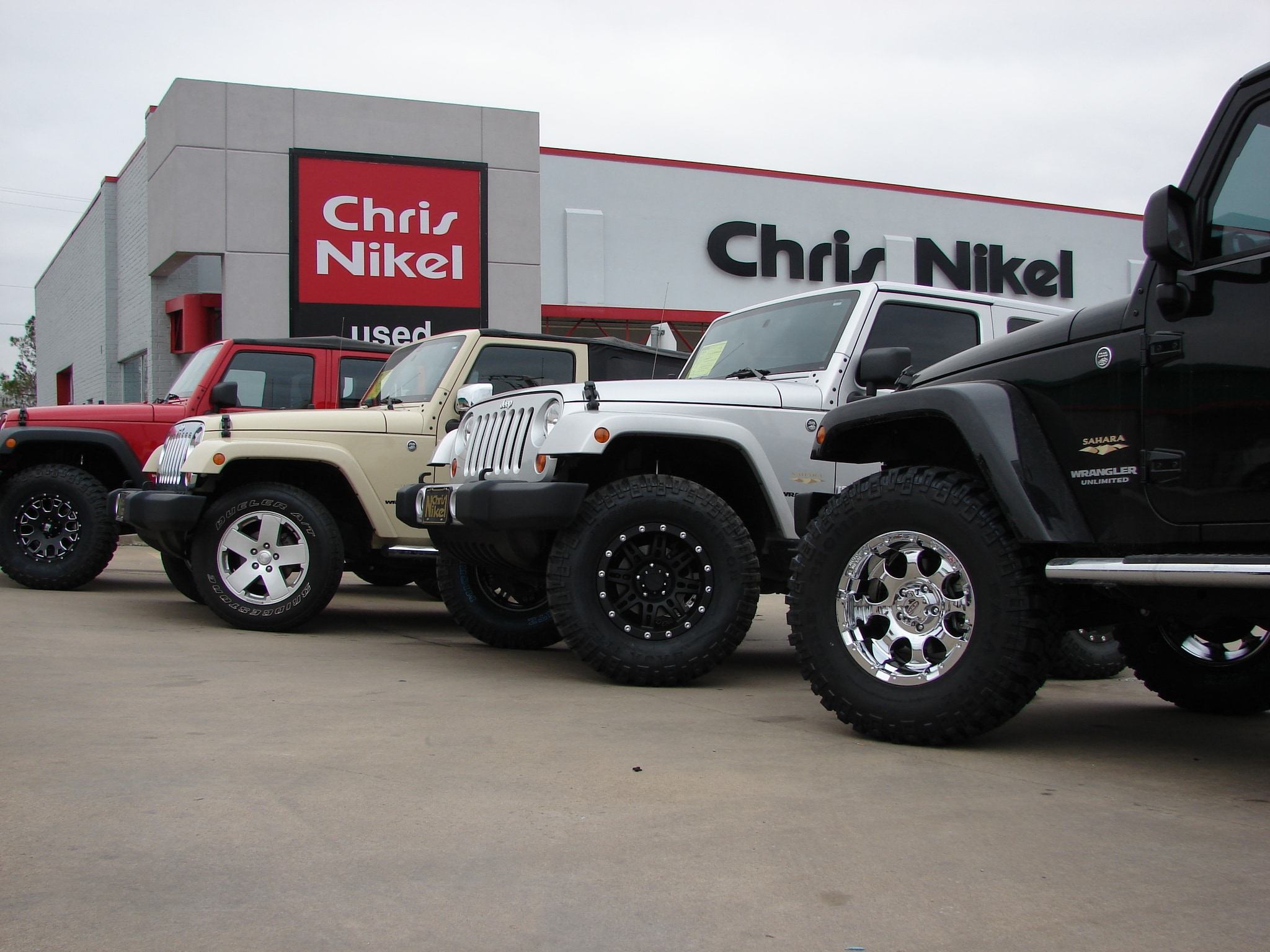 JEEPS IN STOCK: