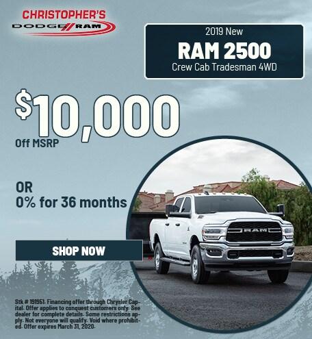 2019 Ram 2500 Crew Cab Tradesman
