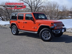 Used 2019 Jeep Wrangler Unlimited Sahara 4x4 SUV for sale in Golden, CO