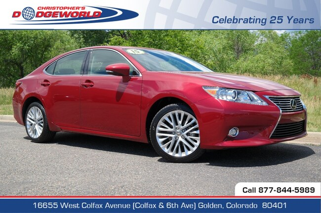 Used 2015 LEXUS ES 350 Sedan Golden CO